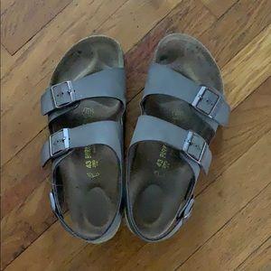 Birkenstock Milano Unisex Leather Sandal size 43